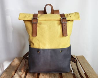 Canvas Backpack/ Leather backpack/ Cotton backpack/ School backpack/ Laptop backpack/ Rolltop backpack/ Canvas bag/ Backpack diaper bag