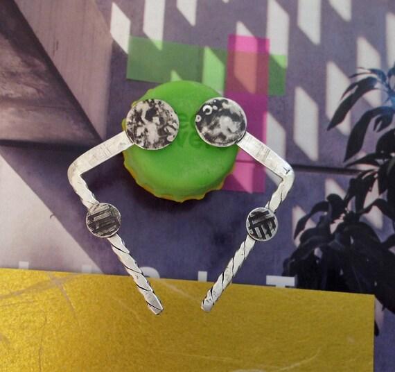 FrameTheFace, Statement Earrings, Oxidized Silver Earrings, Large Dangle Earrings, Sterling Silver Earrings, Artisan Earrings, Stud Earrings