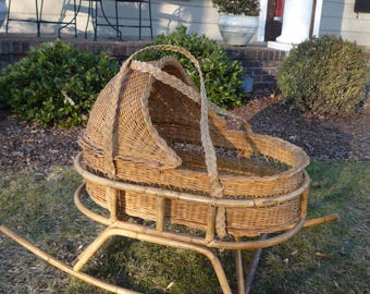 Rattan wippe etsy
