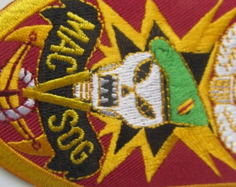 MacVSog   Patch Vintage Patch made in Taiwan
