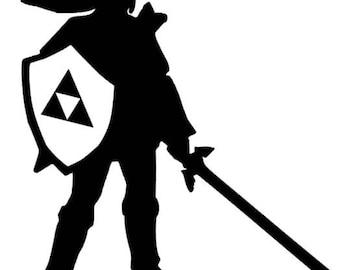 Link Legend of Zelda Decal
