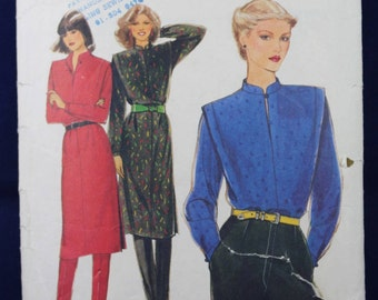Vintage Sewing Pattern for a Woman's Dress, Blouse & Trousers in Size 12 - Style 2790