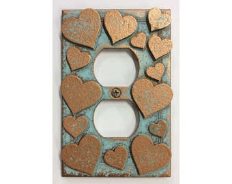 Hearts - Outlet Cover