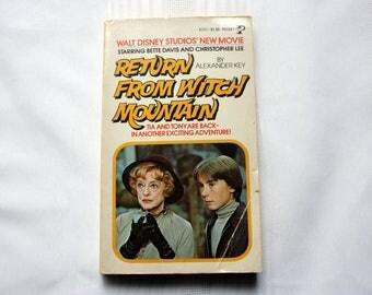 Return From Witch Mountain. Walt Disney Movie, Walt Disney Book, supernatural book, Alexander Key
