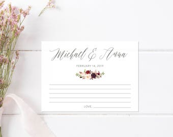 Unique Guest Book. Wedding Guest Book Alternatives. Advice Cards for Bride and Groom. Marriage Advice Cards. Marriage Advice Game.