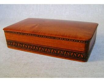 Vintage Cedar Humidor
