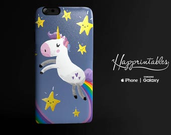 Unicorn rainbow fart case for  iPhone 7, Phone SE, iPhone Plus, iPhone 6/6S, iPhone 5/5S - iPhone 5C, Samsung Galaxy S5, S6 Edge kawaii case