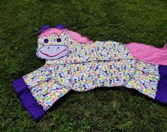 Horse Rag Quilt