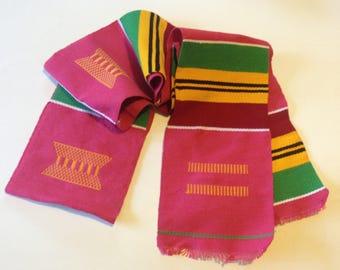 Traditional African Kente Cloth - Style 8