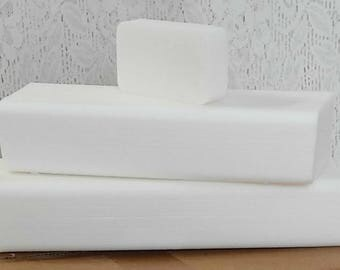 50 lb LOW SWEAT WHITE Melt And Pour Glycerin Soap Base All Natural