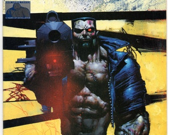 Terminator - Enemy Within #3  Dark Horse Comics 1991 Edington Giarrano Bisley