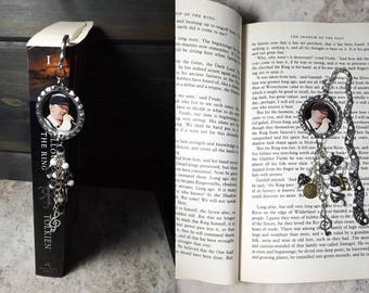 Donnie Wahlberg Bookmark Hook Style With Charms & Beads New Kids On The Block NKOTB Blockhead Gift FREE SHIPPING