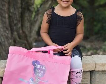 Ballet Bag - Personalized Ballet Bag - Dance Bag - Ballet Tote Bag - Ballerina Dance Bag - Personalized Dance Bag - Pink Dance Bag - Ballet