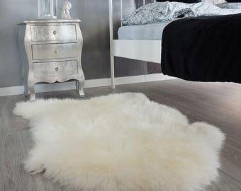 CHRISTMAS SALE Original BIG Xxl White Genuine Natural Sheepskin Rugs  Exclusive Rug Area Rugs Carpet Outdoor