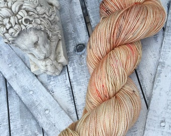 Hand Dyed Yarn, King Edmund the Just, Narnia, The Lion The Witch & the Wardrobe,Fingering Weight,Merino wool,100 gram,Toad Hollow yarns