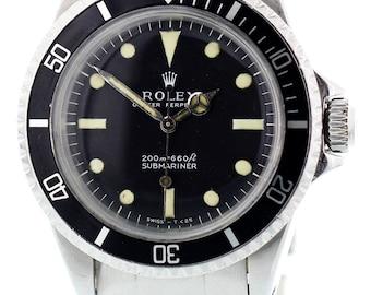 Rolex Submariner 5513 'Meters First' Circa 1967