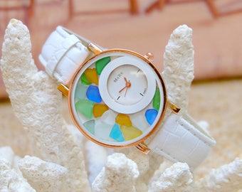 Watch gift, Women wrist watch, Women bracelet watch,Bohemian watch, Women gift ideas, Best gift for girl,Jewelry gift watch,Beach lover gift