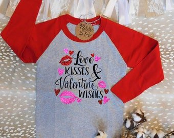 Valentine's Day Shirt,Valentine's Shirt,Cute Valentine Shirt,Kisses Valentine Shirt,Unique Valentine Shirt,Love Shirt,Cute Love Shirt