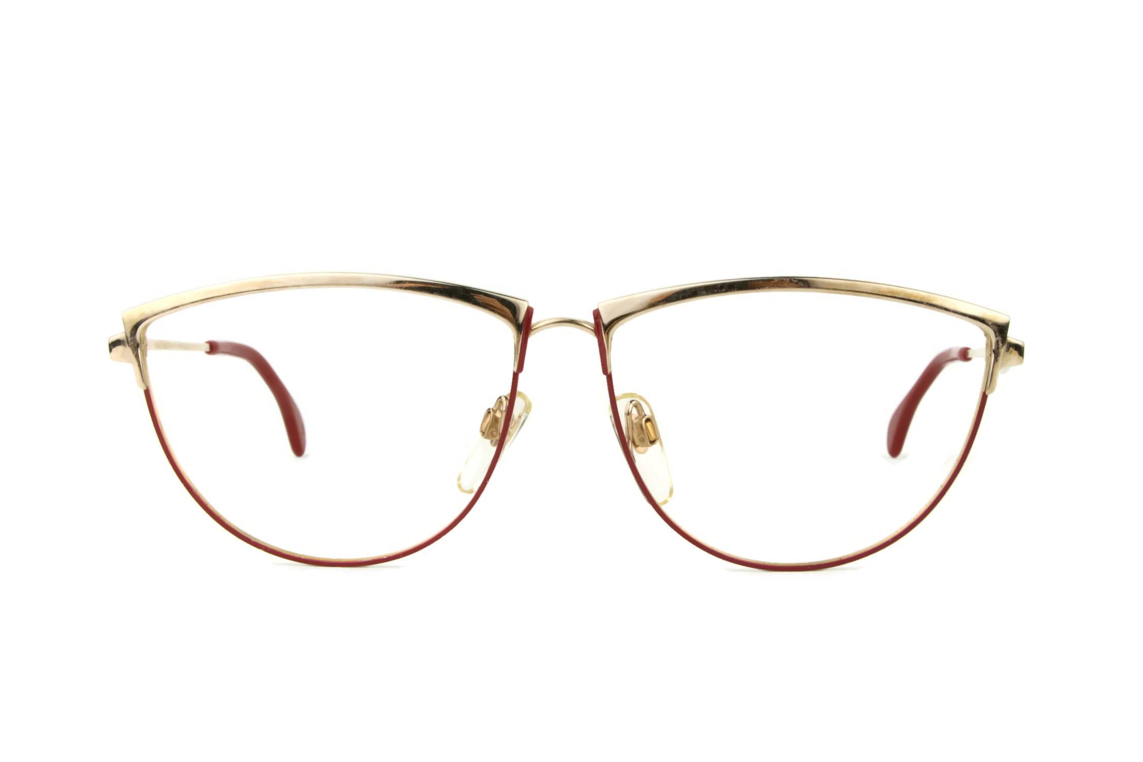 fc0fe14c1e Mondi Frame Germany round glasses panto vintage gold red true vintage  statement eyewear hipster frame eyeglasses