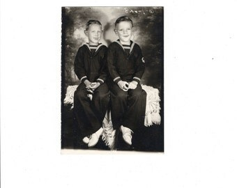 Sailors vintage studio photo