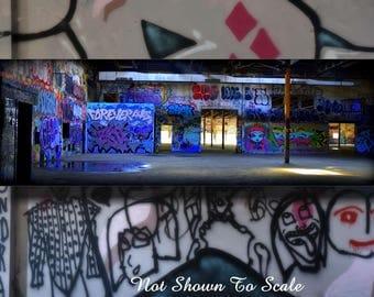 Graffiti Art For Sale, Large Wall Art Canvas, Lowbrow Art, Graffiti Art, Graffiti Art Canvas, Graffiti Wall Art, Steampunk Art, Urban Art