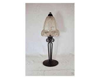 Art deco lamp etsy for Art deco meubilair
