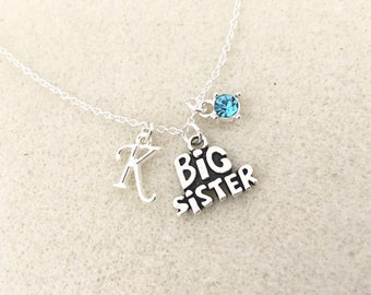 SALE! Big sister necklace personalized gift for big sister gift big sister birthday gift sister gifts birthday new big sister gift from baby