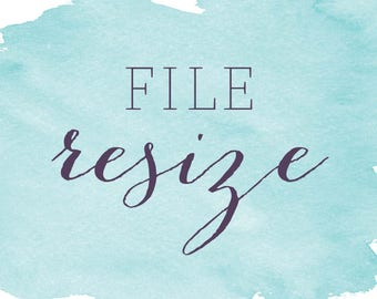 File Resize Add-On | Apply to Existing Design