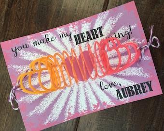 Kids Valentine Card | Etsy