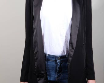 Double Breasted Long-Line Blazer (S)