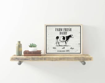 Farm Fresh Dairy Printable