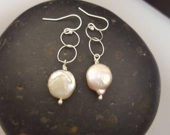 Baroque Freshwater Pearl Earrings