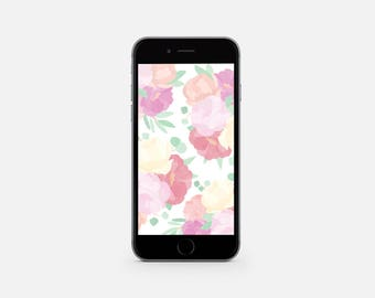 Flower Lovers Mobile Wallpaper