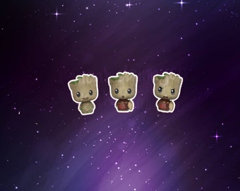 Guardians of the Galaxy Baby Groot stickers