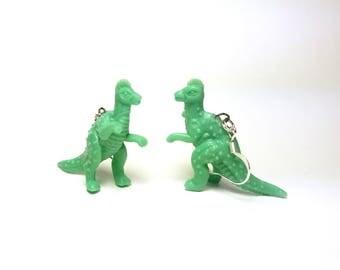 Korythosaurus Dinosaur Earrings