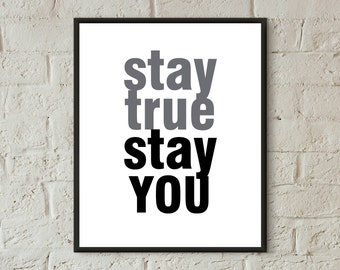 typography print inspirational quotes printable teen room decor boy digital download prints dorm wall art success quotes office wall art