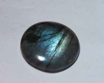 Blue flash Labradorite cabochon 40 Cts.[26 x 26]mm #4231