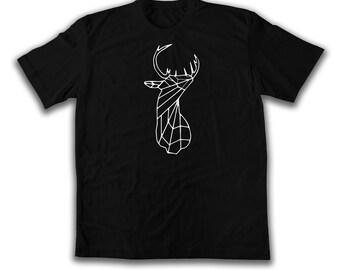 Deer side Polygone Geometric