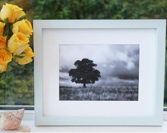 Grey picture frame, grey photo frame, light grey, handmade, simple frame, modern, grey decor, light grey frame, square frame, 5x7,8x10,11x14