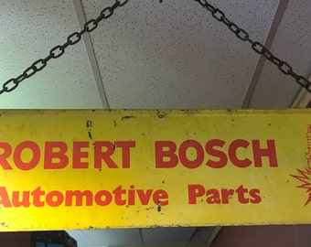 Robert Bosch Painted Sign