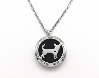 For The Puppy Lover Eyes Only! Essential Oil Pendant