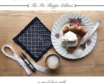 Sashiko Mending - The Pie Shoppe Edition
