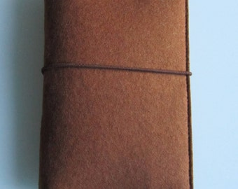 Trip Organizer-Travel Documents folder Passport cover-travel documents from fine felt and SNAPPAP