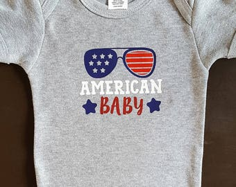 American Baby, Fourth of July Baby, 4th of July Baby, Gift for Baby Fourth of July, Baby's First Fourth of July, Firework Baby, Baby Shower