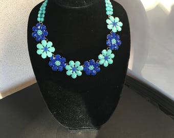 Flowers  Necklace by Dobka