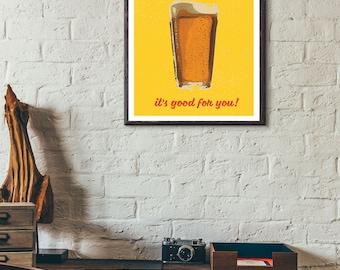 Vintage Style Art Poster-Decor-Home Decor