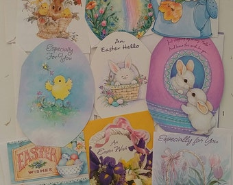 Hoppenin' Variety Packs of 10 - Throwback 90s Vintage -ish Easter Greeting Cards