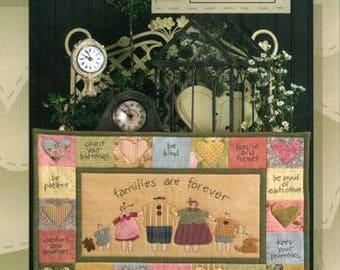Family Matters Art To Heart quilts pattern by Nancy Halvorsen
