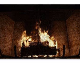 Warmth Fine Art Photography Winter Fire Wall Art Macro Nature Print