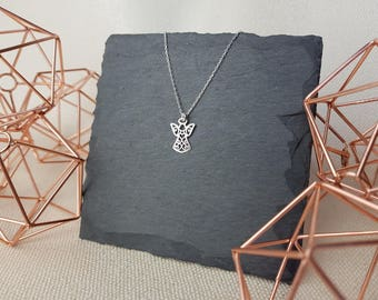 Silver Angel Necklace | Guardian Angel | 925 Sterling Silver | Angel Charm | Religious Necklace |  Protection Charm